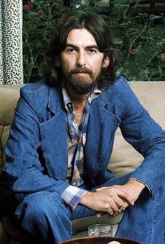 George Harrison.  Favorite Beatle, favorite beard, favorite human.  #gorgeousgeorge #joj