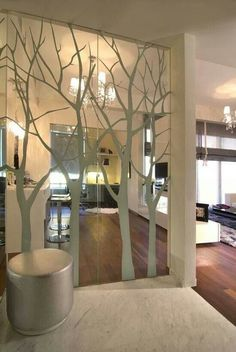 Ive Thought About Doing This Great Way To Make A Mirrored Closet Door Look Much Better The Best Of Inerior Design In