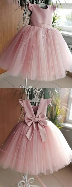 : flowergirldress flowergirldresses flowergirldress cuteflowergirldress prettyflowergirldress lovelyflowergirldresses bestflowergirldresses Dusty Rose Tulle Dusty Rose Tulle Beading Cap Sleeve With Bowknot Flower Girl Dresses, – AlineBridal Wedding Flower Girl Dresses, Tulle Wedding, Cute Girl Dresses, Crystal Wedding, Rose Wedding, Mermaid Wedding, Bridal Dresses, Dusty Rose Dress, Tulle Dress