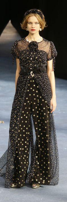 Natalia Vodianova in Chanel S/S 2008