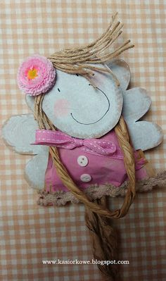 Christmas Projects, Christmas Time, Angel Crafts, Fairy Dolls, Paper Dolls, Crafts For Kids, Applique, Creations, Teddy Bear