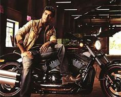 Mega hero Ram Charan is on cloud nine now. Because he's shooting with his Baabai now for the upcoming