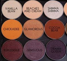 Makeup Geek eyeshadows!