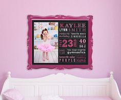 Chalkboard Birthday Poster 16 x 20 Kids by SugarPickleDesigns, $20.00