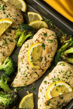 Sheet Pan Lemon Chicken with Parmesan Roasted Broccoli | Cooking Classy