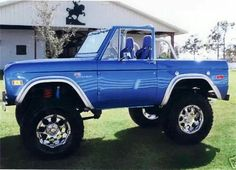 74 Ford Bronco Job Well Done