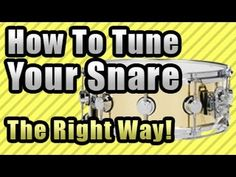 How To Tune Drums - Tuning the Toms (In-Depth Tutorial) by JHDrums - YouTube