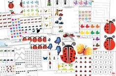 Insects Printable Pack (free; from Gift of Curiosity)