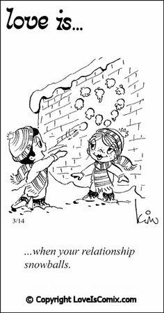 Love is... Comic for Fri, Feb 15, 2013