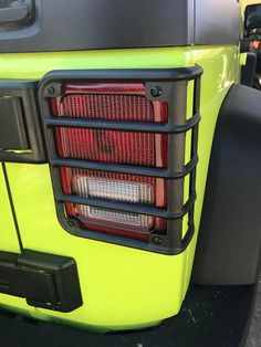Jeep Wrangler Accessories - A pair of Matte Black color Steel Tail Light Guard/ Cover for 2007-2018 Jeep Wrangler JK 2 door and Unlimited JKU 4-door. Jeep Wrangler Lights, Wrangler Sahara, 2017 Jeep Wrangler, Jeep Wrangler Accessories, Christmas Villages, Light Covers, Tail Light, Jeeps, Matte Black