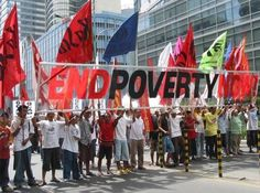 To me, Poverty is an inequal sociological issue. Poverty is about human kind suffering because of enviromental disasters, government rules and regulations, pay inequality, neo-liberalism, sexism, racism, and many other 'man made' social rules and issues that have adapted over the years of humankind.