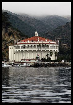 Avalon, Catalina Island    Looked here to get married...but after getting seasick and finding out the price, we changed our  minds!