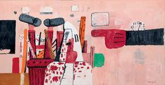 roy litchinstien statue of liberty | Philip Guston , Courtroom , 1970, oil on canvas, 170.2 x 327.7 cm (67 ...