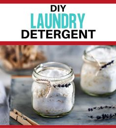 Skip the chemicals and opt for pure and simple ingredients that will still leave your clothes fresh and clean. Using this DIY Laundry Detergent is safe, economical, effective, eco-friendly and will leave your clothes smelling great! Here is everything you need to know about greening your laundry routine and helping your family avoid toxins. Diy Laundry Detergent, Cleaning Spray, Healthy Gluten Free Recipes, Diy Cleaners, Balls Recipe, Essential Oil Uses, Fresh And Clean, Natural Cleaning Products, Household Tips