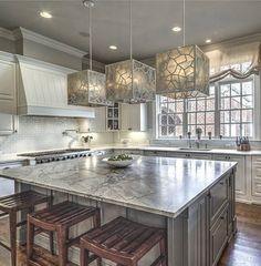 "4,226 Likes, 30 Comments - Grace R (@lovefordesigns) on Instagram: ""Monday kitchen inspiration!.. . via @beachamcorealtors  #lovefordesigns#homedecor…"""