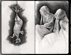 Moleskine Pages #1 by Gabriele Fabbri, via Behance
