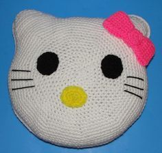 free patterns for crochet animal pillows - Google Search