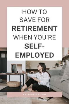 Data shows that entrepreneurs aren't saving enough for retirement. This article walks you through how to save for retirement when you're self employed. Saving For Retirement, Retirement Planning, Email Marketing, Content Marketing, Data Show, Financial Success, Blogging For Beginners, Make Money Blogging, Entrepreneurship