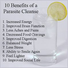 how to start a parasite cleanse