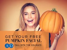 🎃 FREE Pumpkin Facial for the first 100 guests at our Fall Into the Holidays event! ❄️ Read up on the skincare freebies, giveaways and specials you can get when you stop by Aesthetic Dermatology on November 3rd: www.dermatologistsofbirmingham.com/aesthetic-dermatology-fall-winter-open-house