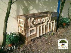Composteur Kanopy / Pallet Compost Bin Kanopy Planters & Compost
