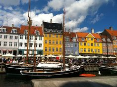 Nyhavn, Copenhagen.