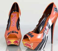 KTM / Red Bull / Fox Racing Pumps