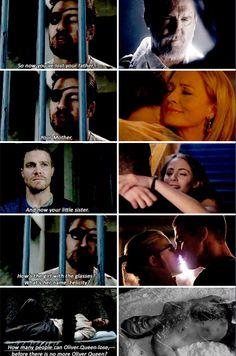 Arrow - Oliver & Slade #3.14 #Season3 <3