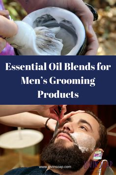 Curious as to what essential oil blends are best for men's grooming products? Check out this list before you begin your next DIY soap making project!