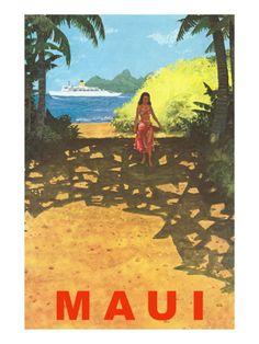 CafePress Queen Duvet Vintage Hawaii Travel Colorful Hawaiian Tropical Q