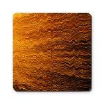 Colorful lightwave abstract texture Cork Coaster