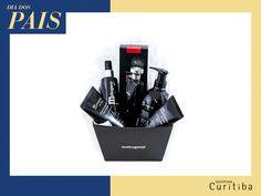 Kit for Men da Mahogany Cosméticos tem todos os cosméticos que o seu pai precisa em uma só caixinha! :D