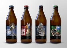BDBC Seasonal Beers on Packaging of the World - Creative Package Design Gallery