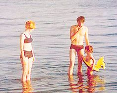 Jane Asher, Paul McCartney & Julian Lennon in Greece