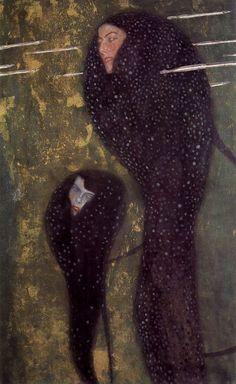 Gustav Klimt - Nixen