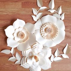 Gorgeous paper flower backdrop would look stunning for your wedding, event or home decor.  Handcrafted by A Paper Event