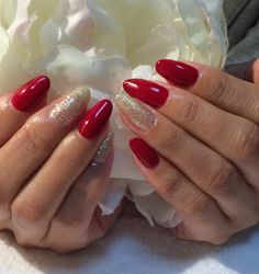 #red #white gold