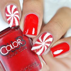 What Christmas manicure to choose for a festive mood - My Nails Chistmas Nails, Cute Christmas Nails, Xmas Nails, Christmas Nail Art Designs, Holiday Nails, Xmas Nail Art, Christmas Acrylic Nails, Christmas Manicure, Christmas Colors