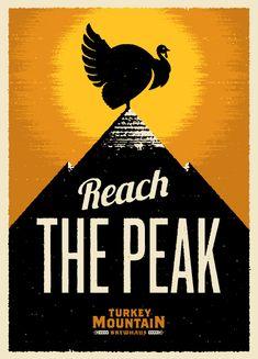 Turkey Mountain Brewhaus Poster
