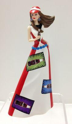 "Coca-Cola - ""Life's Brighter with Coca Cola"" -  Effervescent Zeal Lady Figurine"
