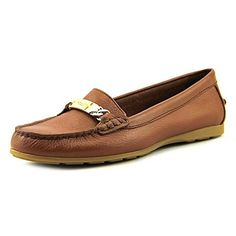 b2490f88897 COACH Womens Olive Saddle Pebble Grain Leather Loafer     New and awesome  product awaits