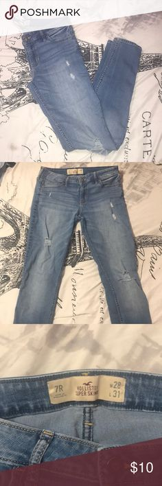 hollister super skinny jeans low rise great condition Hollister Jeans Skinny