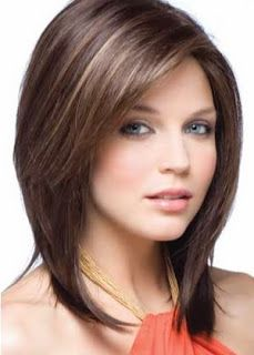 Great medium hair cuts for a diamond face shape! Take your pick!