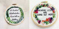 flower wreath & greenery wreath