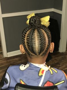 Toddler Braided Hairstyles, Lil Girl Hairstyles, Girls Natural Hairstyles, Natural Hairstyles For Kids, Natural Hair Styles, Black Hairstyles, Little Girl Braids, Braids For Kids, Girls Braids