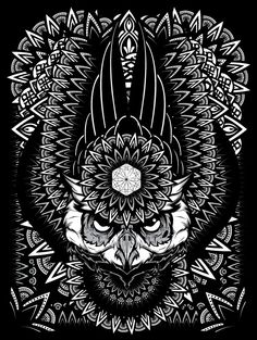 Mandala Exploration on Behance | Geometry | Geometric | Graphic Design | Black and White |