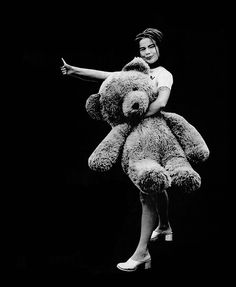 A bear with Bjork | by Anton Corbijn