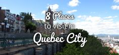 I was recently asked if I preferred my time in Montreal or Quebec City more, and while Montreal is a gorgeous city, decorated with thousands of green copper spires, hosts incredible festivals, has...