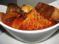 9jafoodie   Nigerian Food Recipes   Modern African Cuisine – Nigerian Buka Stew (Obe Ata)