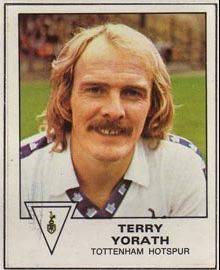 #SpursOnThisDay 25th March 1950 - Terry Yorath, midfielder 1979-1981, born. #THFC Terry Yorath, Tottenham Hotspur Fc, Military Vehicles, March, Picture Cards, Football Soccer, Army Vehicles, Mars